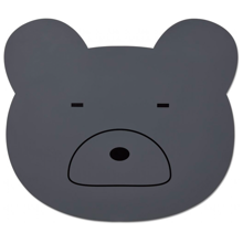 Liewood Aura Placemat Mr. Bear Stone Grey