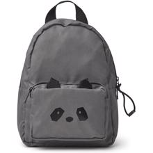 Liewood Saxo Mini Backpack Panda Stone Grey