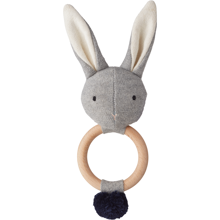 Liewood Aria Rattle Rabbit Grey Melange