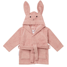 liewood-bathrobe-badekaabe-mint-blaa-lily-rabbit-kanin