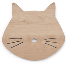 Liewood Troy Wooden Lamp Cat Natural