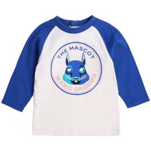 Little Marc Jacobs Baby Boy Off White Blue Blouse