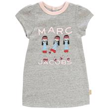 Little Marc Jacobs Baby Girl Chine Grey Dress