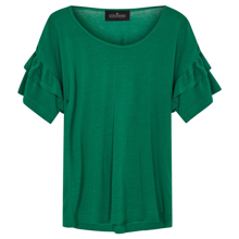 Little Remix New Blos Ruffle Tee Apple Green