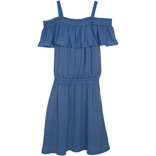 Little Remix Alia Strap Dress Demin Blue
