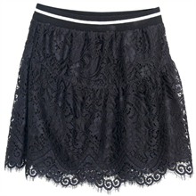 Little Remix Jemima Ruffle Skirt Black