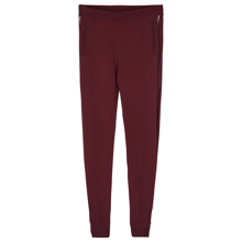 Little Remix Casey Pants Burgundy/White Piping