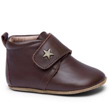 Bisgaard Indoor Shoes Velcro Star 12301 (brown)