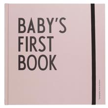 Design Letters Baby's First Book (pink)