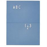 Design Letters Message Board A4 (Blue)