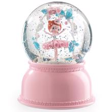 Djeco Snow Globe w. Light Ballerina