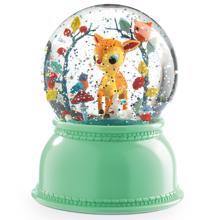 Djeco Snow Globe w. Light Bambi