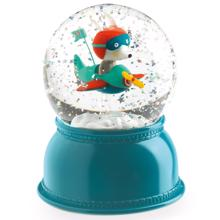 Djeco Snow Globe w. Light Night Pilot