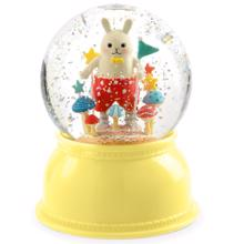 Djeco Snow Globe w. Light Rabbit