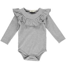 MarMar Grey Melange Bibbi Jersey Body
