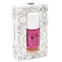 Nailmatic Nail Polish Water-based Sheepy (rasberry glitters)