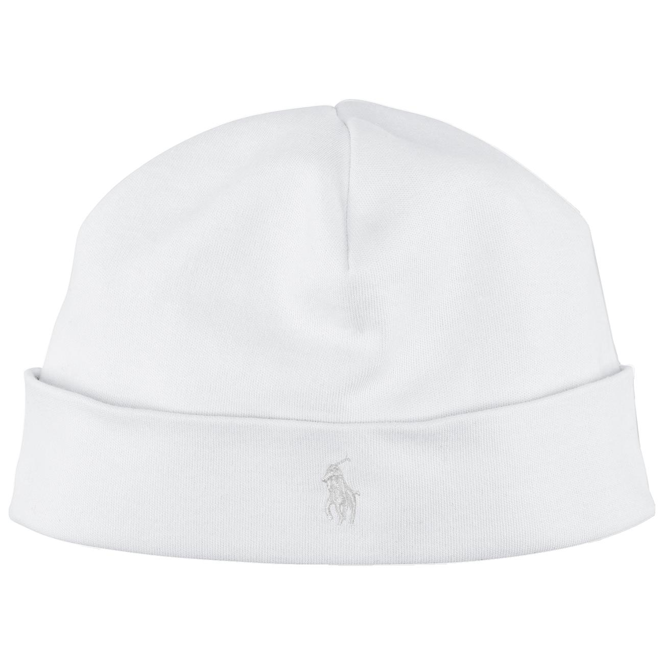 05e2c932316 Ralph Lauren Baby Neutral Hat Beanie White