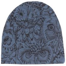 Soft Gallery Orion Blue Owl Beanie