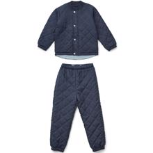 Liewood Luna Thermo Set Navy
