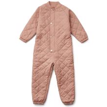 Liewood Frankie Thermo jumpsuit Dark Rose