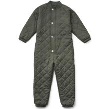 Liewood Frankie Thermo jumpsuit Hunter Green