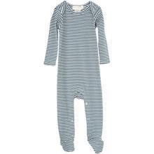 Serendipity Baby Atlantic/offwhite Suit Stripe Feet