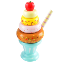 Magni Ice Cream Stacking Tower Blue