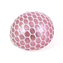 Magni Squeeze Glitter Ball Pink