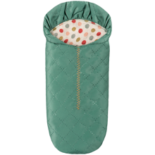Maileg Mouse Sleeping Bag Green