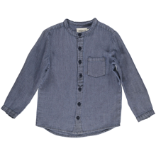 MarMar Light Blue Soft Canvas Theodor Shirt