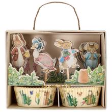 Meri Meri Peter Rabbit Cupcake Kit Baby 24 pcs