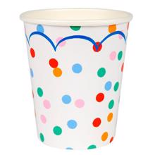 Meri Meri Toot Sweet Spotty Party Cups 12 pcs