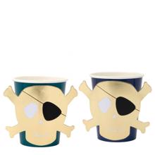 Meri Meri Pirate Cups 8 pcs