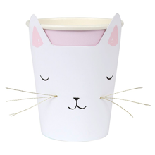 Meri Meri Cat Cups 12 pcs