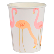 Meri Meri Flamingo Cups 8 pcs