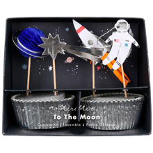 Meri Meri Space Cupcake Kit 24 pcs