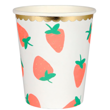 Meri Meri Strawberry Cups 8 pcs