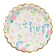 Meri Meri Wildflower Plate Small