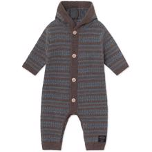 Mini A Ture Alver Brown Melange Romper
