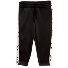 Mini Rodini Black Panda WTC Pants