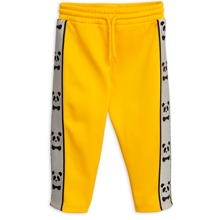 Mini Rodini Yellow Panda WTC Pants