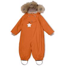 Mini A Ture Wisti Fur Snowsuit Autumnal Brown