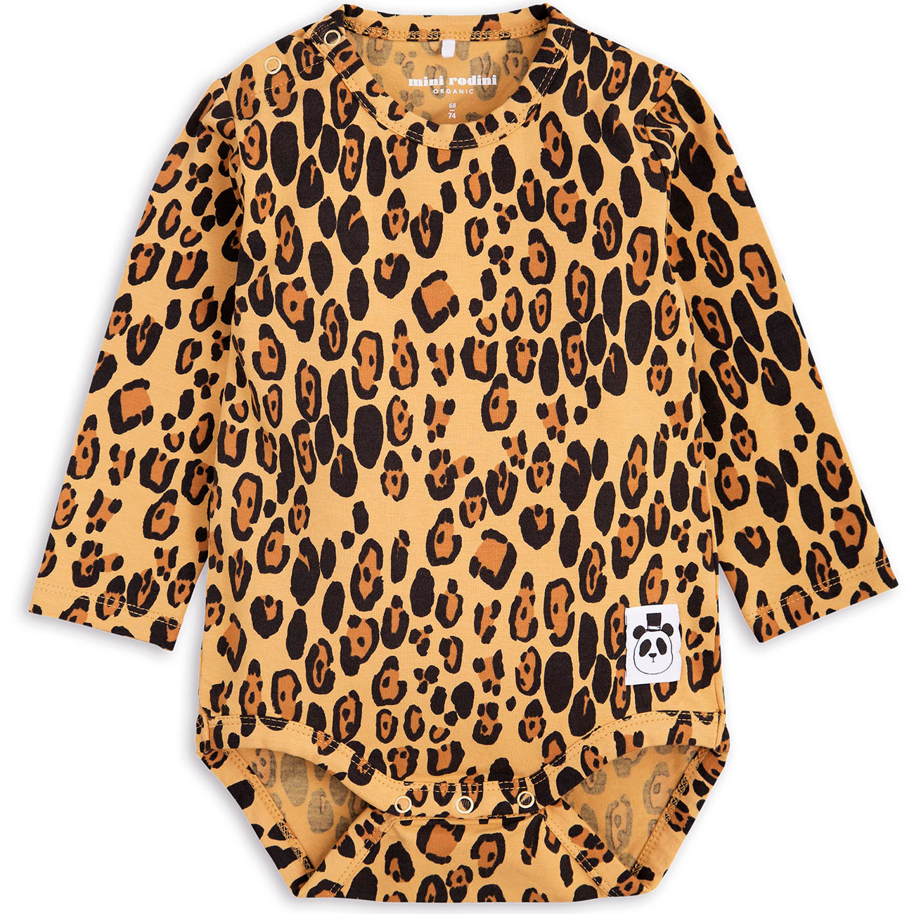 Mini Rodini Basic Leopard Body LS