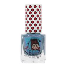 Miss Nella Nail Polish Blue Metal