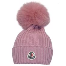 Moncler Fur Hat Rose