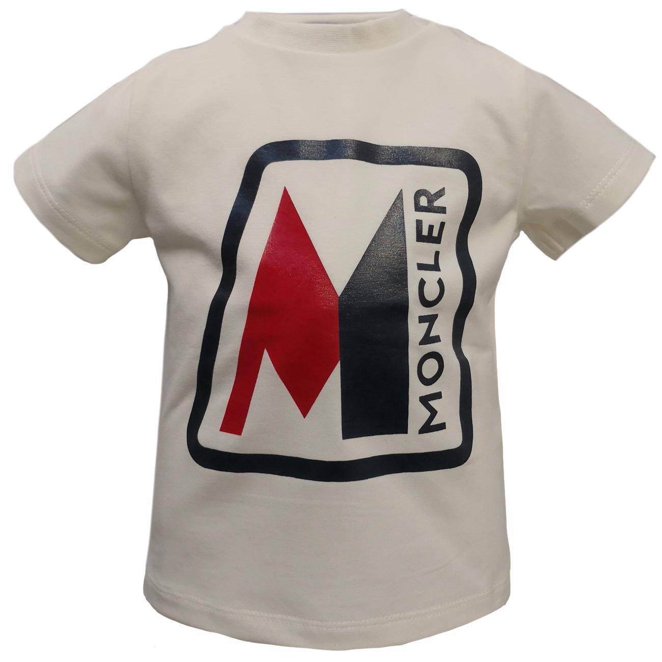 Moncler Maglia T shirt Creme