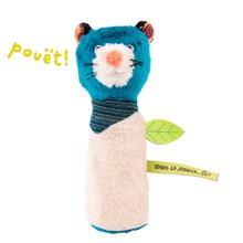 Moulin Roty Squeaky Toy Zimba the Panther