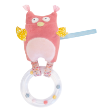 Moulin Roty Ring Rattle Owl