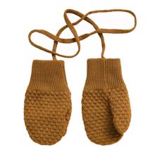 MP Oslo Baby Mittens Dark Honey
