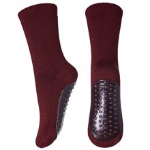 MP Cotton Slippers Burgundy